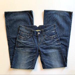 American Holic Vintage Y2K Wide Legged Flare Jeans